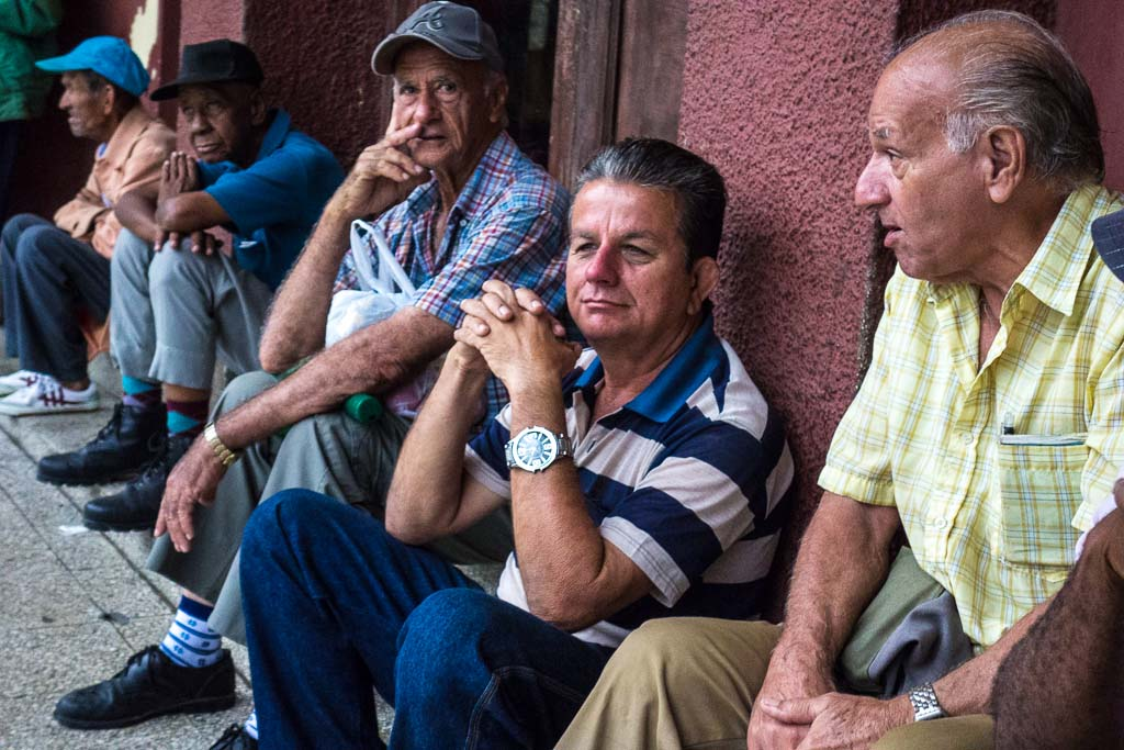 Waiting for the bus Sancti Spiritu Cuba